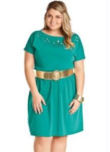 Vestidos de fiesta cortos para gorditas 2015 (13)