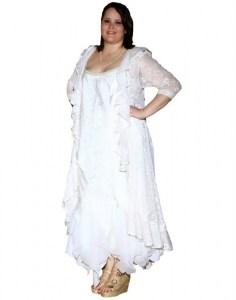 Vestidos de fiesta cortos para gorditas 2015 (2)