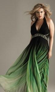 Vestidos de fiesta largos para gorditas 2015 (14)