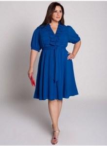 13 Hermosos vestidos de color para gorditas (3)