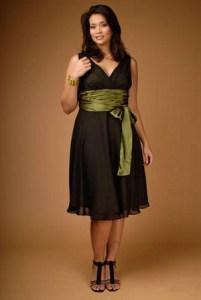 13 Hermosos vestidos de color para gorditas (8)