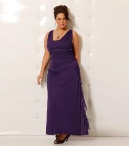 10 Hermosos vestidos de gala para gorditas bajitas (6)