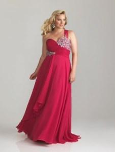 11 Bellos vestidos de fiesta para gorditas rojos (3)