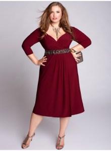 11 Bellos vestidos de fiesta para gorditas rojos (4)