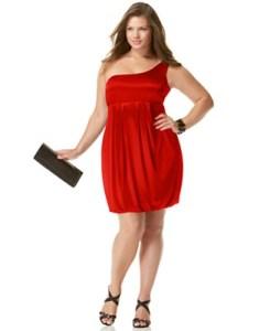 11 Bellos vestidos de fiesta para gorditas rojos (8)