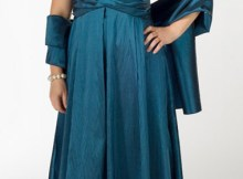 11 Bonitos vestidos de fiesta para gorditas para matrimonio (12)