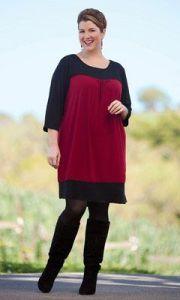 10 nuevos diseños de vestidos de fiesta para gorditas a media pierna (7)