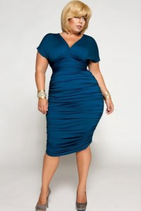 10 vestidos de fiesta para señoras gorditas de 60 años (9)