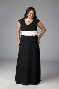 11 vestidos de fiesta para gorditas de noche (10)