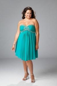 10 vestidos de fiesta para gorditas azul turquesa (10)