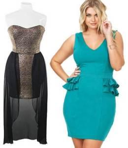10 vestidos de fiesta para gorditas azul turquesa (5)