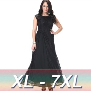 10 nuevos diseños de vestidos de fiesta para gorditas en Aliexpress (3)