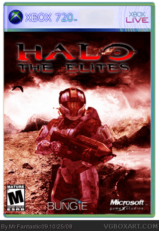 (720)Halo: The Elites Xbox 360 Box Art Cover by Mr.Fantastic09