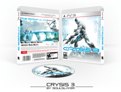 Crysis 3 PlayStation 3 Box Art Cover by SoulSlayer