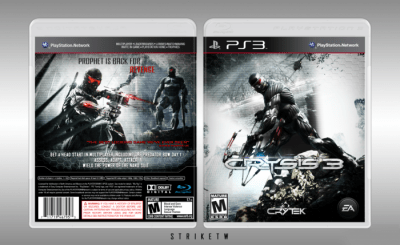 Crysis 3 PlayStation 3 Box Art Cover by Strike the Wolf