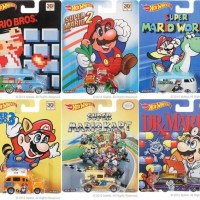 Mattel combina Hot Wheels con Super Mario Bros.