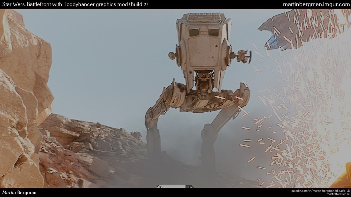 Derrite tu Tarjeta de Video con este mod para Star Wars Battlefront