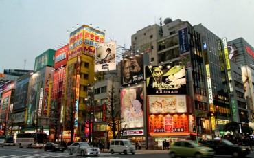 A spasso tra i quartieri di Tokyo