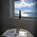 Santorini Grecia Reverie Hotel - Vista por do sol