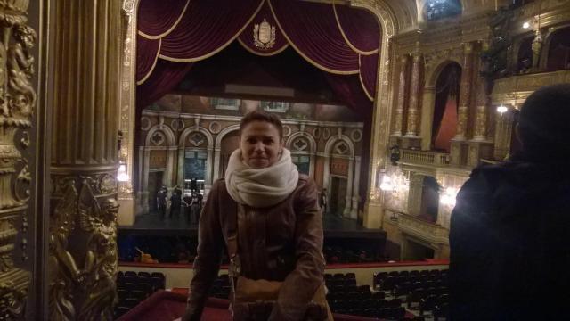 Viajando sozinha e tranquila - Viajando bem e barato pela Europa - Ópera Estatal_Budapeste