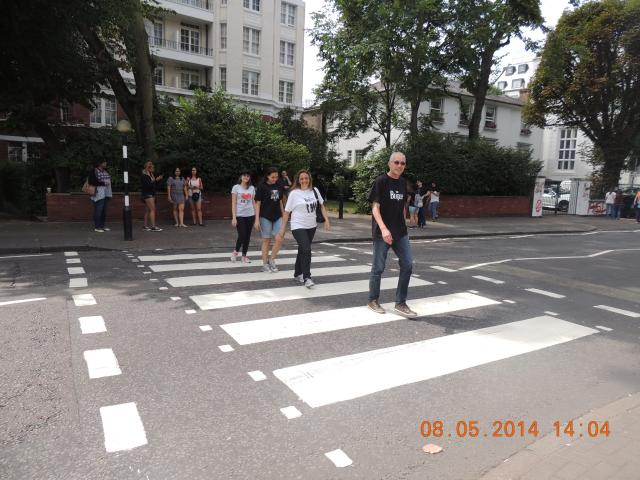 Roma, Paris e Londres Abbey Road