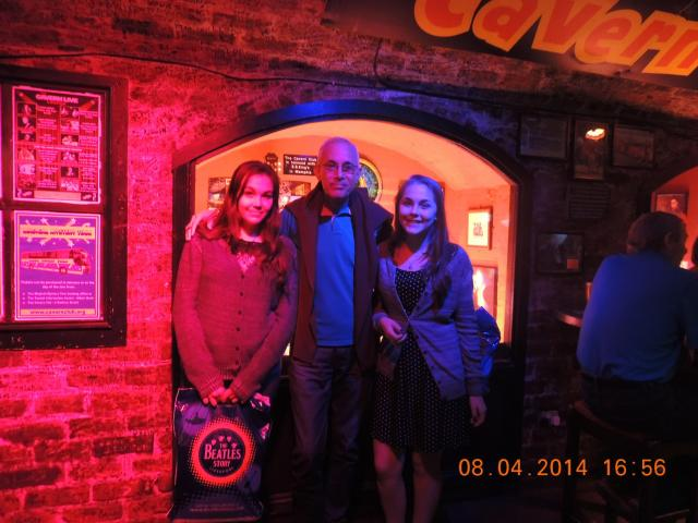 Roma, Paris e Londres Cavern Club
