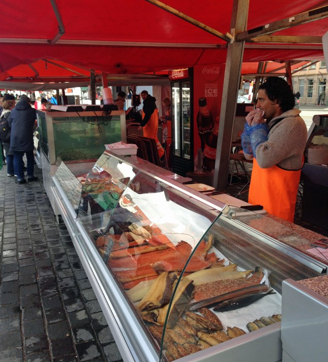 Bergen_Mercado de Peixes_Viajando bem e barato pela Europa