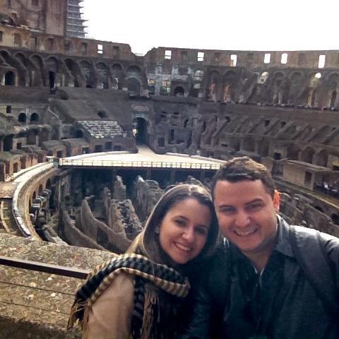 15 dias pela Europa_Coliseu_Viajando bem e barato pela Europa