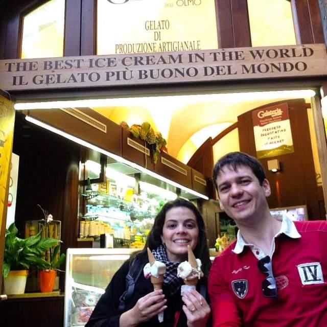 Viagem para Itália, Inglaterra e Holanda_gelato_Viajando bem e barato