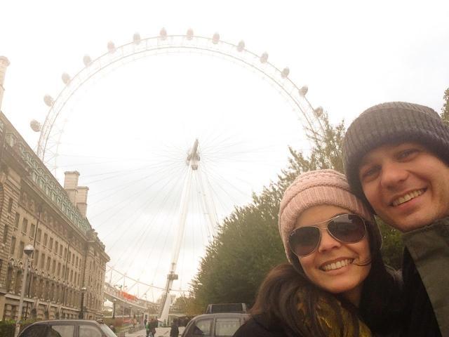 Viagem para a Itália, Inglaterra e Holanda_London Eye_Viajando bem e barato