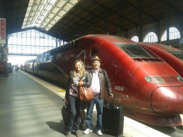 Europa na melhor idade_trem Amsterdã_Viajando bem e barato