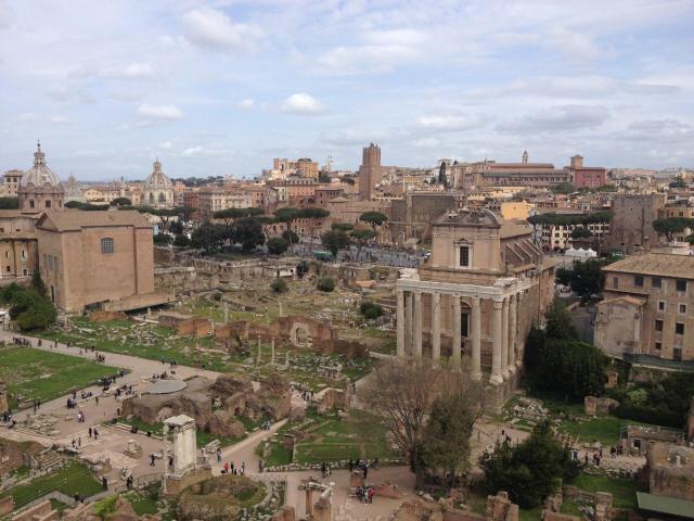 Viagem para Itália e Portugal_Roma_Viajando bem e barato