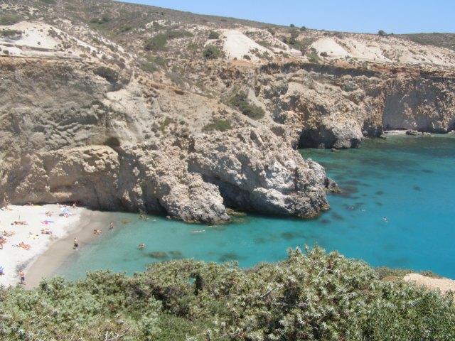 Dicas para conhecer Milos - Tsigrado - Viajando bem e barato