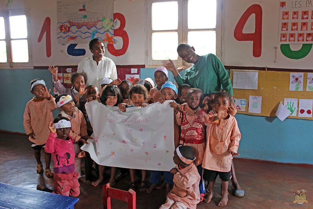 Voluntariado Yamuna. Clase preescolar #AulaTraveler