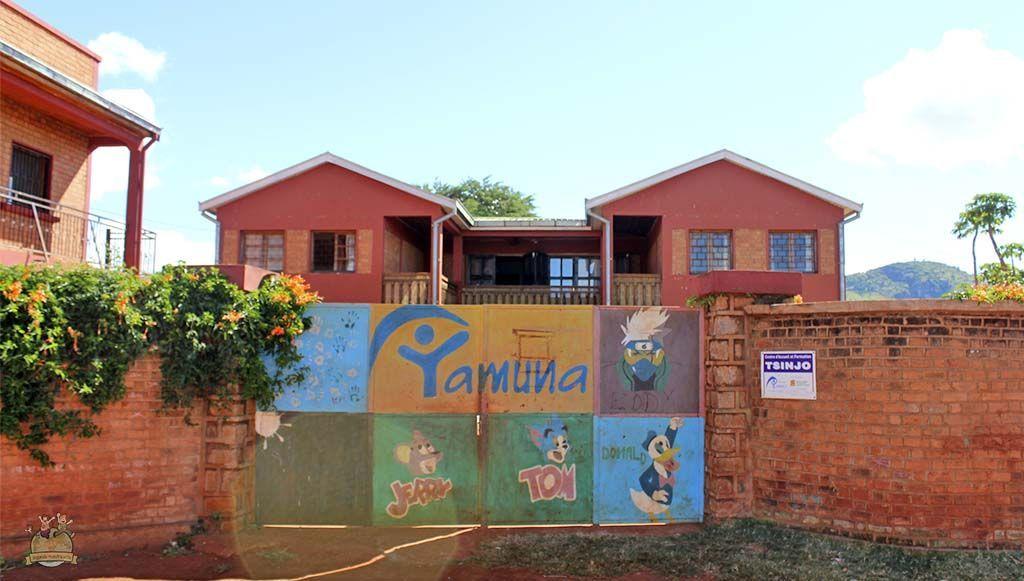 Voluntariado Yamuna. Maison Tsinjo.