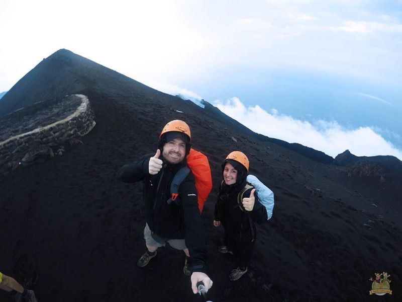 Trekking a la cima del volcán Stromboli