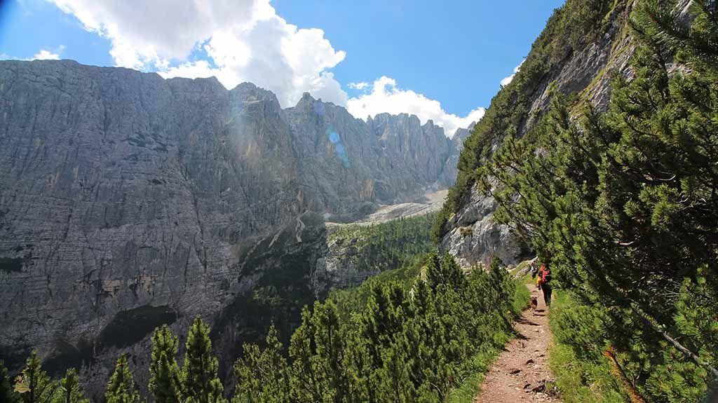 trekking Lago di Sorapis