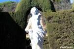 Escultura de la Diosa Eros en el centro del laberinto