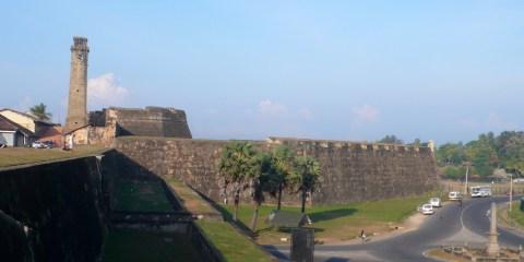 Ciudad vieja de Galle y sus fortificaciones