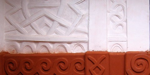 Edificios ashanti tradicionales