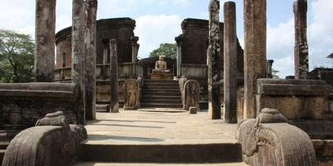 Antigua ciudad de Polonnaruwa