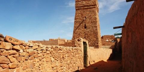 Antiguos ksurs de Ouadane, Chinguetti, Tichit y Oualata