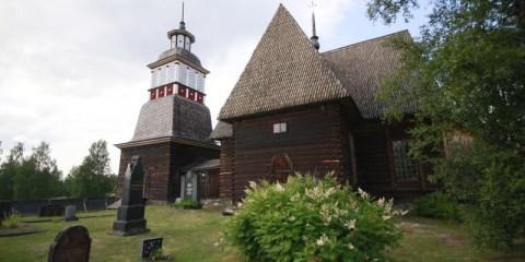 Iglesia vieja de Petäjävesi