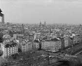 Las vistas de la cabeza, el corazón y la médula de París