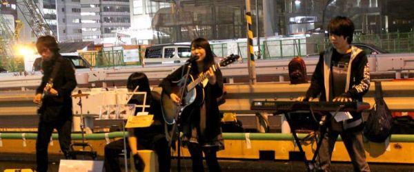 Grupos Callejeros Shinjuku Tokio Japon