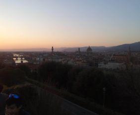 Piazzale Michelangelo Florencia Italia