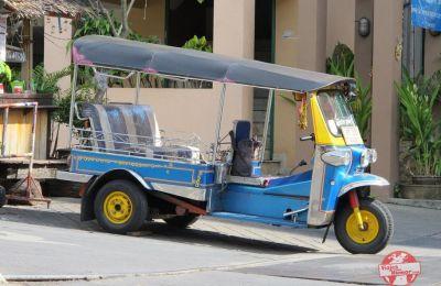 tuk tuk bangkok tailandia