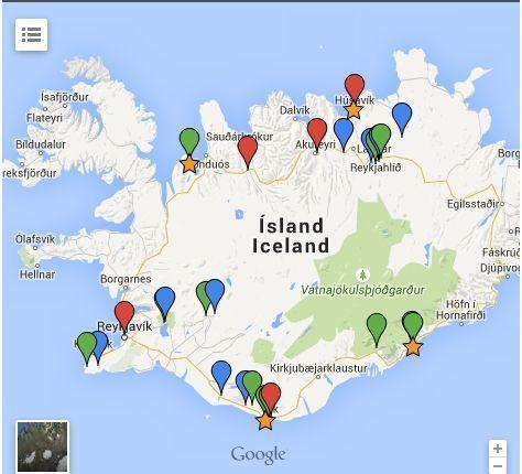 Mi viaje a Islandia (mapa incluído)