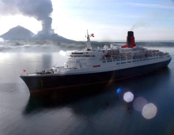 Queen Elisabeth todo un lujo en el mar