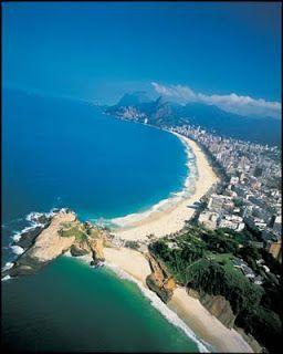 La exclusiva playa de Ipanema
